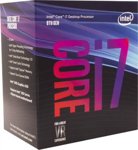 procesor intel core i7-8700k, 3.70ghz, 12mb, box