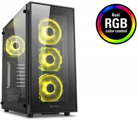 obudowa sharkoon tg5 rgb tempered glass