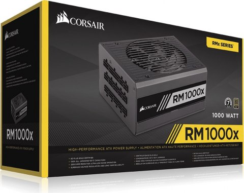 Zasilacz Corsair RM1000X 80Plus Gold - 1000W (CP-9020094-EU)
