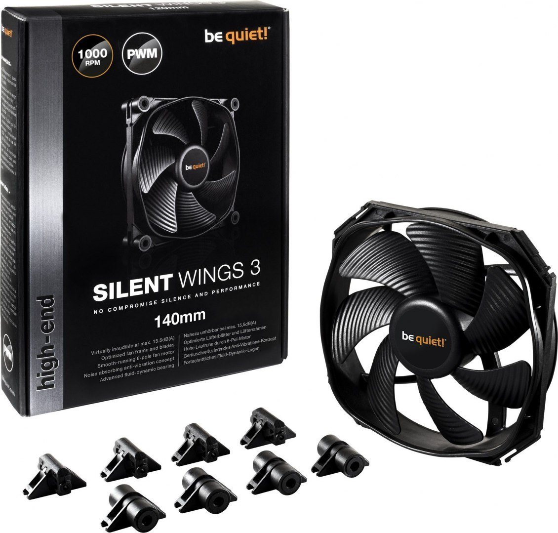 be quiet! SilentWings 3 PWM 140mm (BL067)