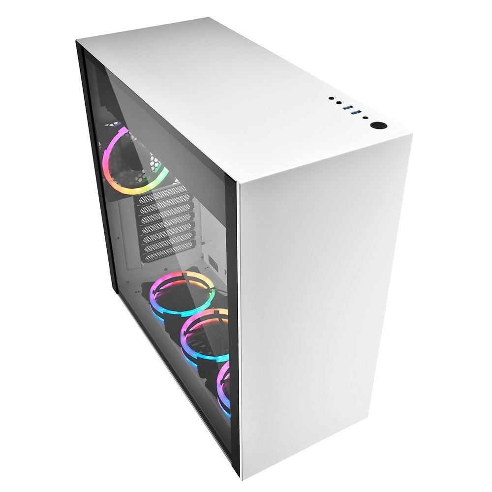 Obudowa Sharkoon PURE STEEL RGB White